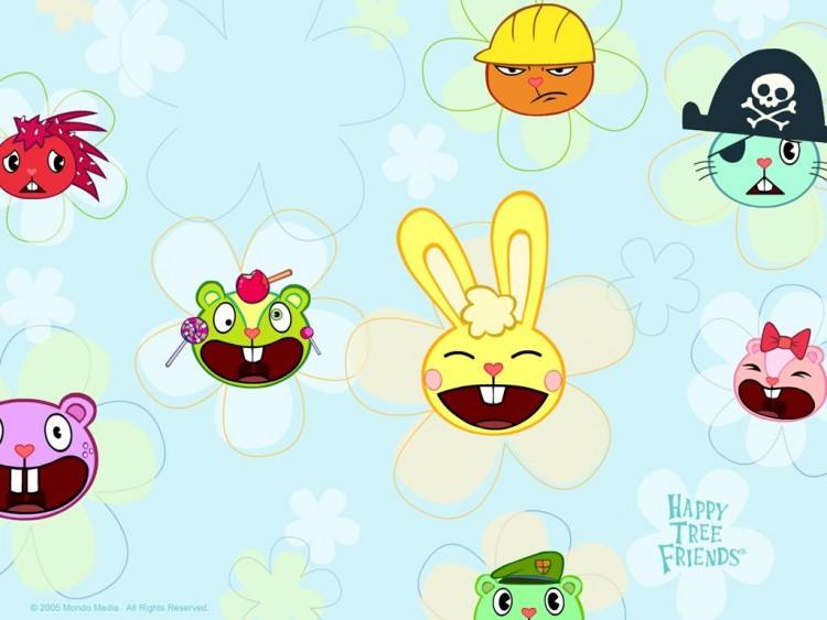 Wallpapers Cartoons Wallpapers Happy Tree Friends Wallpaper N