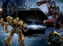 Fonds d'écran Cinéma Optimus et Bumblebee