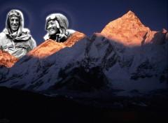 Wallpapers Digital Art Edmund, Tensing & l'Everest