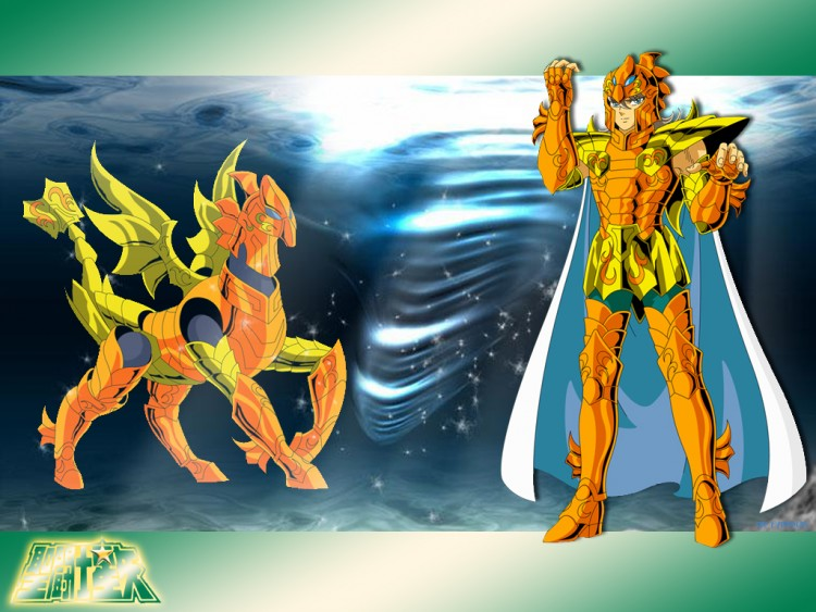 Fonds d'écran Manga Saint Seiya - Les Chevaliers du Zodiaque bian