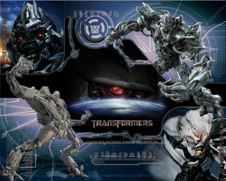Wallpapers Movies Transformers Megatron et Starscream