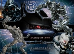 Wallpapers Movies Megatron et Starscream