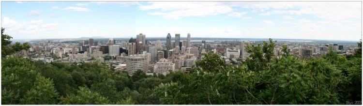 Fonds d'écran Voyages : Amérique du nord Canada > Québec Montréal depuis son Belvédère