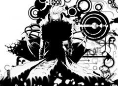 Fonds d'écran Manga ... un Typhon se prépare