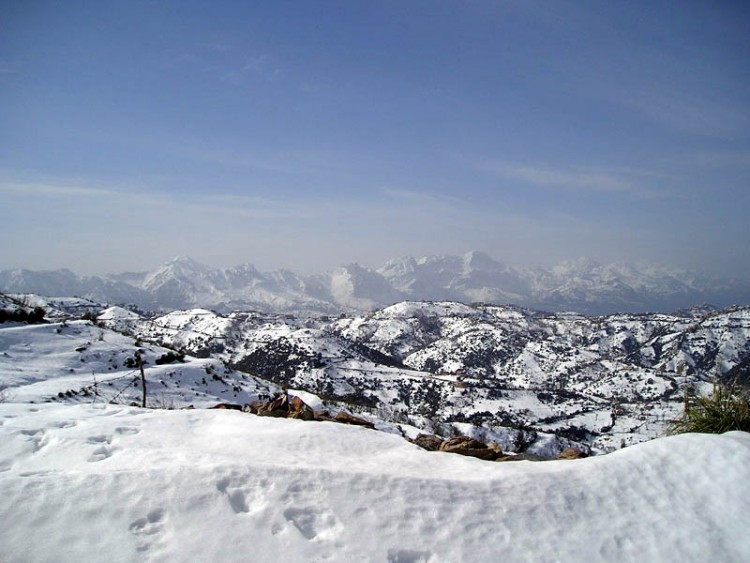 Wallpapers Trips : Africa Algeria Kabylie-neige