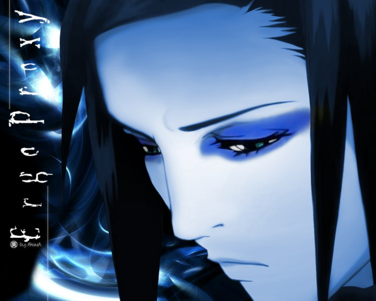 Wallpapers Cartoons Ergo Proxy ... a blue Real