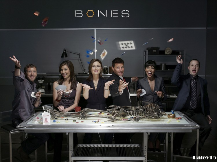 Fonds d'écran Séries TV Bones Bones cast s3