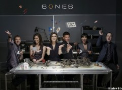 Fonds d'écran Séries TV Bones cast s3