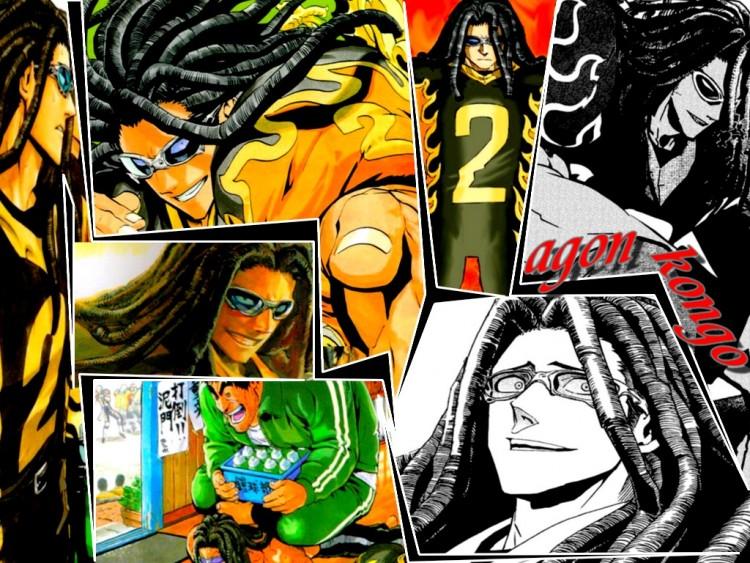 Fonds d'écran Manga Eyeshield21 agon