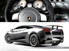 Fonds d'écran Voitures Lamborghini Gallardo Superleggera 2007 by bewall.com