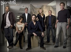 Fonds d'écran Séries TV Scrubs team