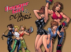 Wallpapers Comics Danger Girl vs. DOA Girl