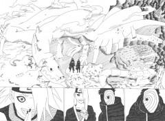 Wallpapers Art - Pencil Tobi et deidara