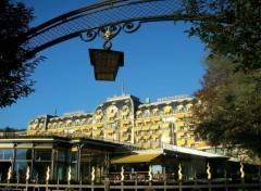 Fonds d'écran Voyages : Europe Montreux Palace