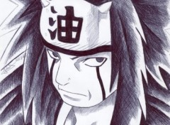 Wallpapers Art - Pencil jiraiya