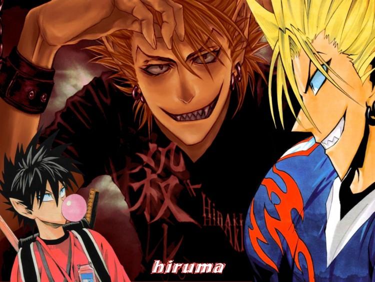Fonds d'écran Manga Eyeshield21 hiruma
