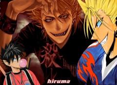 Fonds d'écran Manga hiruma