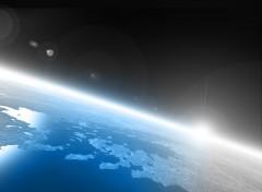 Fonds d'écran Espace planet