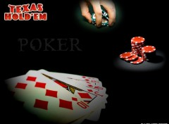 Fonds d'écran Sports - Loisirs Poker Texas Hold'em