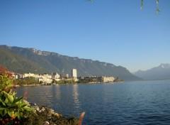 Fonds d'écran Voyages : Europe Le lac Léman  : Montreux