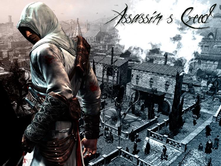 Fonds d'écran Jeux Vidéo Assassin's Creed Assassin's Creed in town