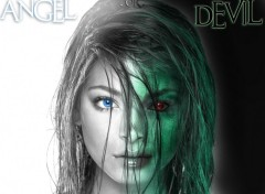 Wallpapers Fantasy and Science Fiction Angel or Devil ... (Kristin Kreuk)