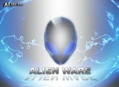 Fonds d'écran Informatique Alien Blue