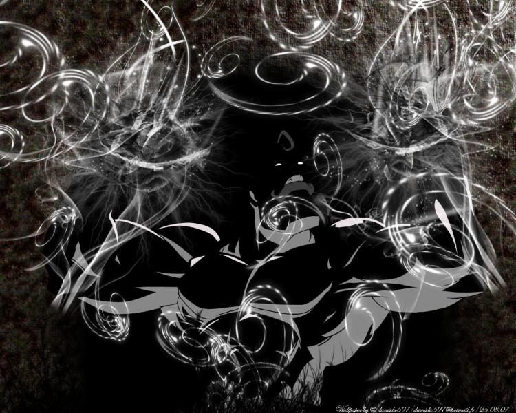 Fonds d'écran Manga Full Metal Alchemist The decouverte(vs black and whrite).