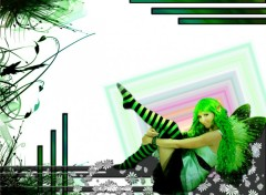 Wallpapers Fantasy and Science Fiction fashion angel
