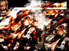 Fonds d'écran Manga cowboy