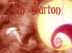 Fonds d'écran Cinéma Tim Burton,Vincent et Jack l'epouventail