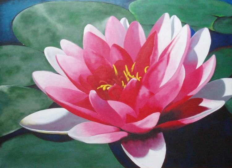 Fonds d'écran Art - Peinture Fleurs Wallpaper N°181846