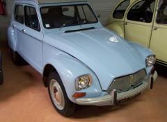 Fonds d'écran Voitures Citroën Dyane