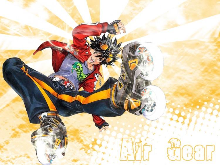 Fonds d'écran Manga Air Gear Grab the sky