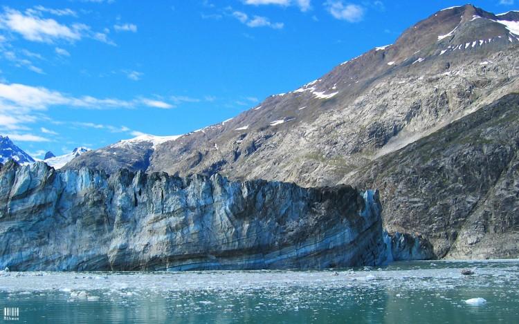 Fonds d'écran Voyages : Amérique du nord Etats-Unis > Alaska Glacier en Alaska