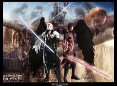 Fonds d'écran Jeux Vidéo Genesis and Sephiroth