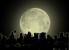 Fonds d'écran Art - Numérique moonlight