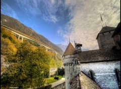 Fonds d'écran Voyages : Europe Chillon 1