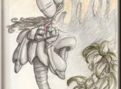 Fonds d'écran Art - Crayon human nature