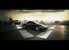 Fonds d'écran Voitures Porsche Cayman