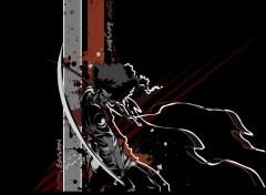 Fonds d'écran Dessins Animés afro samurai