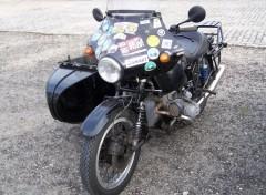 Fonds d'écran Motos BMW avec side-car