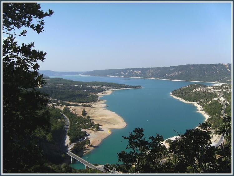 Wallpapers Nature Rivers - Torrents Lac de Sainte-Croix sur le Verdon