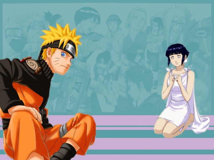 Fonds d'écran Manga Naruto Naruto/Hinata