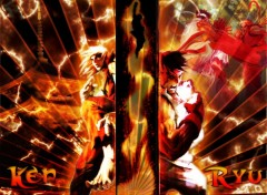 Wallpapers Video Games Ken et Ryu