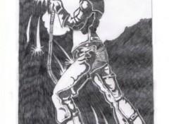 Fonds d'écran Art - Crayon flashdance