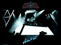 Wallpapers Music Daft Punk Alive 2007
