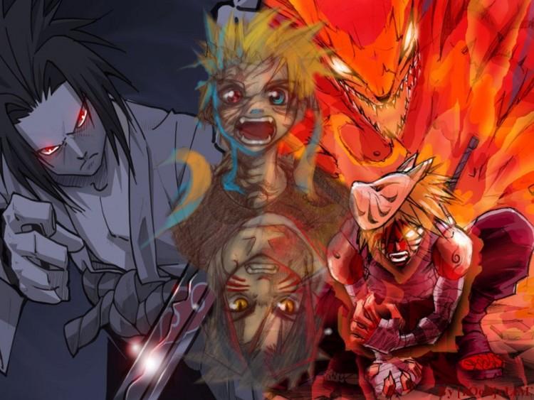 Fonds d'écran Manga Naruto SasuketNaruto