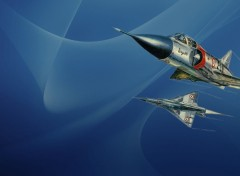 Wallpapers Planes Aqua Mirage III C
