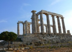 Fonds d'écran Voyages : Europe TEMPLE POSEIDON